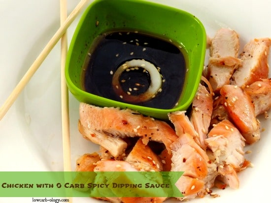 Low Carb Spicy Chicken With Thai Dipping Sauce