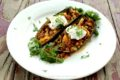 Low Carb Stuffed Poblano Peppers