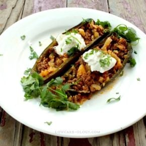 low carb stuffed poblano peppers 7 carbs lowcarb-ology.com