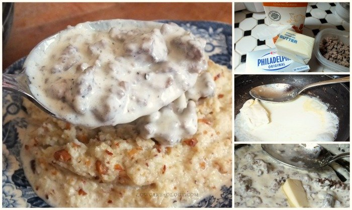 how to make low carb sawmill gravy |lowcarb-ology.com