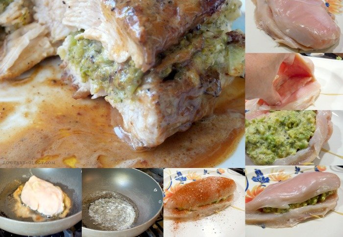 steps to make stuffed chicken breast