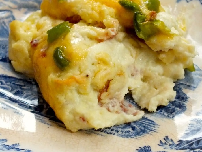 jalapeno popper casserole with bacon