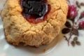 Low-Carb Raspberry Thumbprint Scones