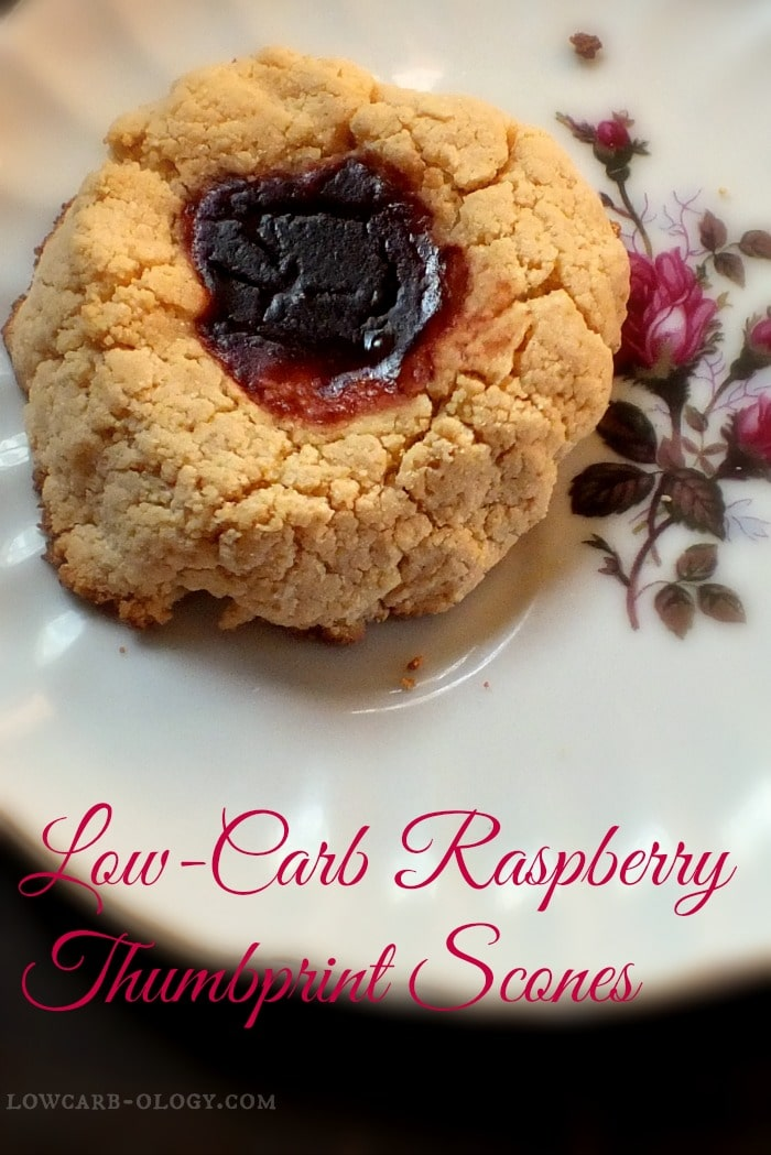 raspberry thumbprint scones|lowcarb-ology.com