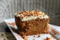 Low Carb Carrot Cake with a Splash of Rum (GF)