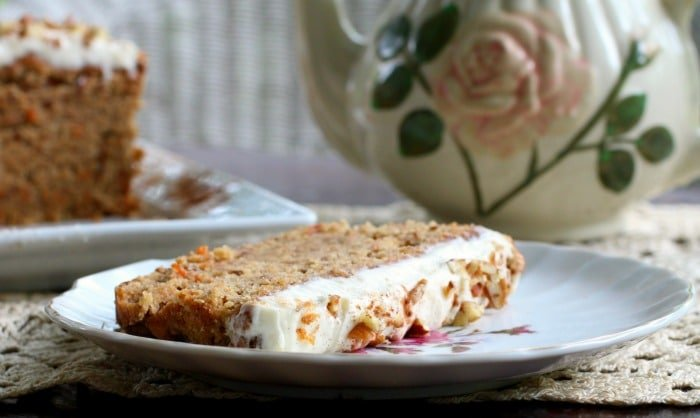 low carb carrot cake for tea|lowcarb-ology.com