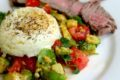 Poached Egg and Guacamole Low Carb Breakfast