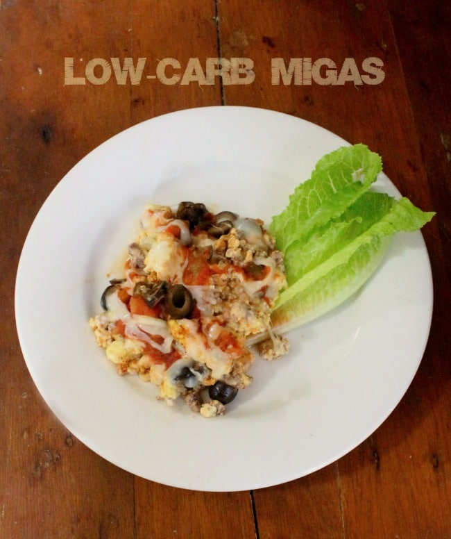 low-carb migas are perfect when you want all the flavor without the carbs