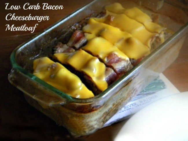 This low-carb bacon cheeseburger meatloaf will be a family favorite -lowcarb-ology.com