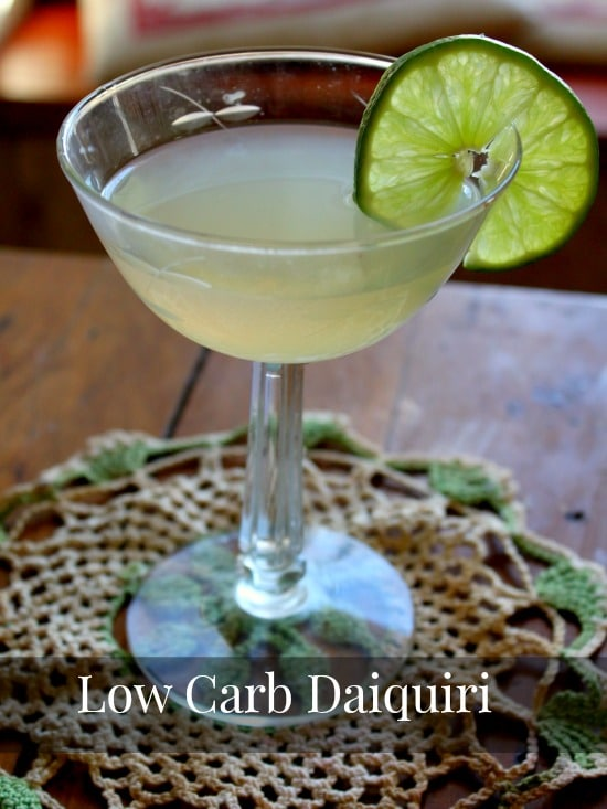 You can enjoy this low-carb daiquiri once in awhile! lowcarb-ology.com