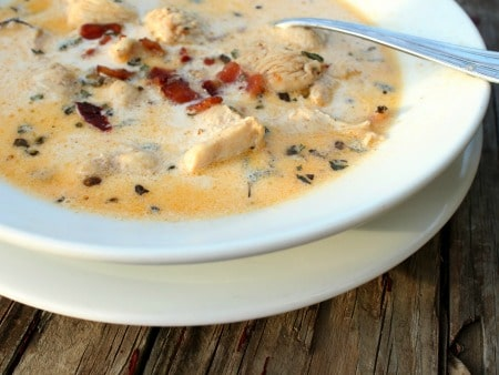 chicken chipotle chowder is low carb comfort food... just delicious - lowcarb-ology.com