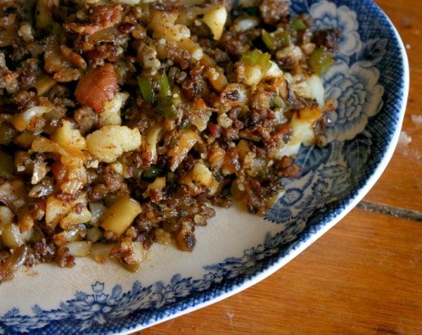 low carb dirty rice is easy to make and so good! lowcarb-ology.com