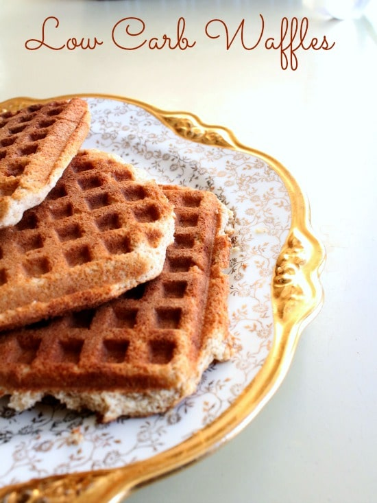 low carb waffles have just 1.9 net carbs and make breakfast fun again! Lowcarb-ology.com