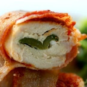 poblano chicken rollups are a hit with the family -- even if they aren't low-carbing. Lowcarb-ology.com