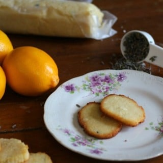 Low carb lavender lemon cookies are perfect with a cup of tea. From lowcarb-ology.com
