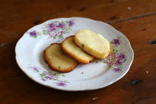 Pretty lavender lemon cookies are low carb, low calorie, and high flavor! From Lowcarb-ology.com