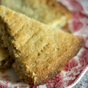 Scottish shortbread cookies are low carb and gluten free. Perfect, filling snack! From Lowcarb-ology.com