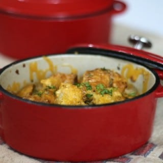 Low carb ranch chicken casserole is perfect comfort food. From Lowcarb-ology.com