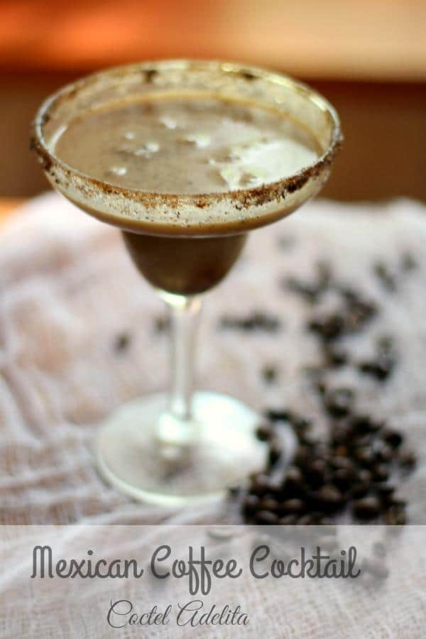 This Mexican coffee cocktail is a low carb version of the Coctel Adelita made with tequila and coffee. Under 1 carb per serving and perfect for Cinco de Mayo! From Lowcarb-ology.com