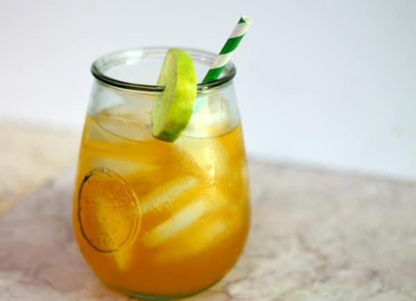 Caribbean Rum: Summer Bourbon Cocktail: The Southern Belle