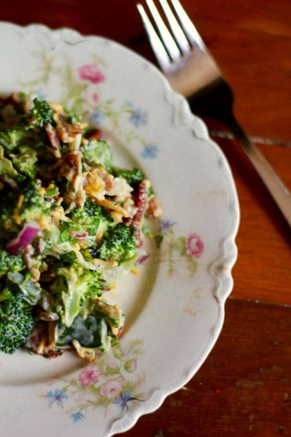I love this low carb southwestern broccoli salad. It's got so much texture and flavor! From lowcarb-ology.com