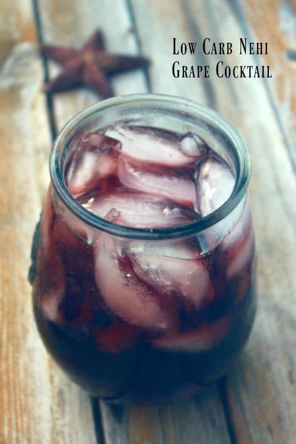 This 0 carb grape Nehi cocktail is full of that yummy fizzy grape flavor. From Lowcarb-ology.com