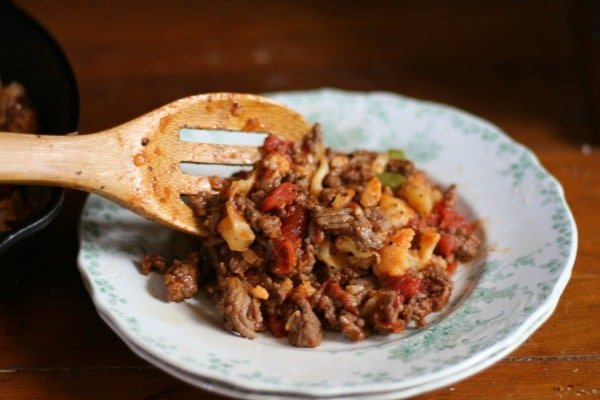 Low Carb American Goulash