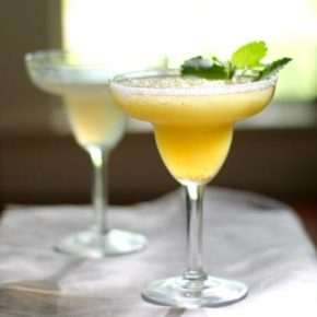 A low carb cocktail, this Tropical Margarita Slush is cold and refreshing! From Lowcarb-ology.com