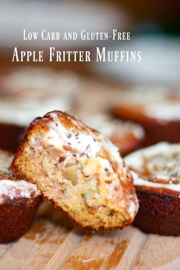 Low Carb and Gluten Free, These Apple Fritter Muffins Are a Sweet Taste of Fall. From Lowcarb-ology.com