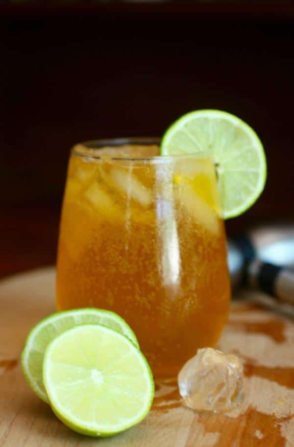 Hawaiian Iced Tea is a blast of tropical flavor with 0 carbs. Delicious cocktail for anytime. From Lowcarb-ology.com