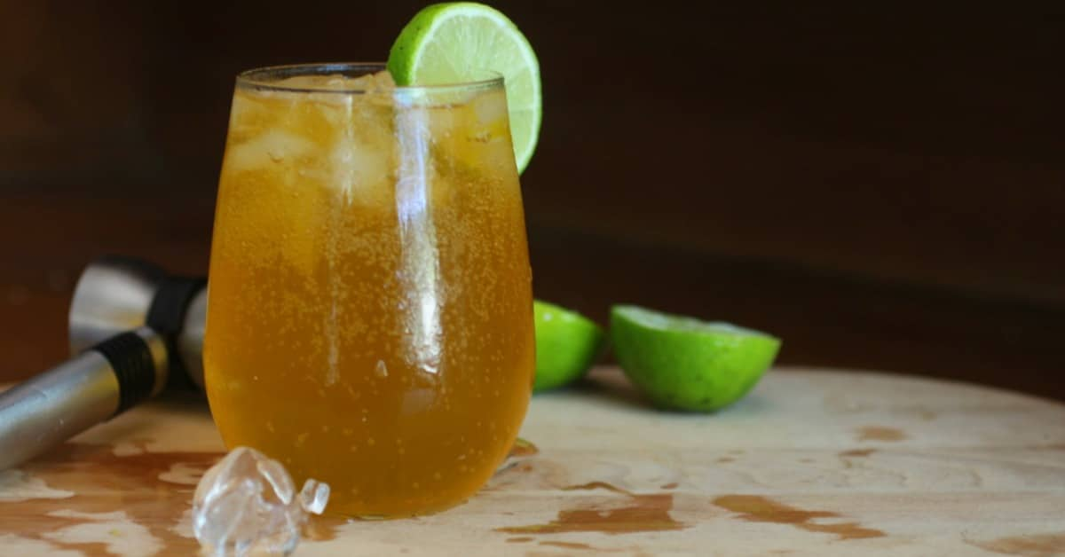 Long Island Iced Tea With Coconut Rum