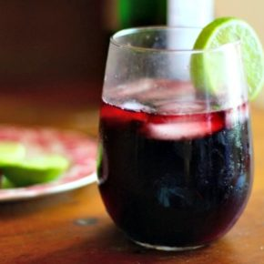 This low carb red sangria recipe is about to be your favorite! Just 3 carbs per 8 ounce glass. From lowcarb-ology.com