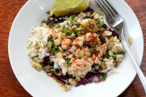 Southwestern tuna salad is delicious for lunch or a light dinner. From Lowcarb-ology.com