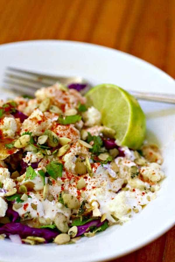 Southwestern tuna salad has a satisfying crunch and just 4.9 net carbs! Lowcarb-ology.com