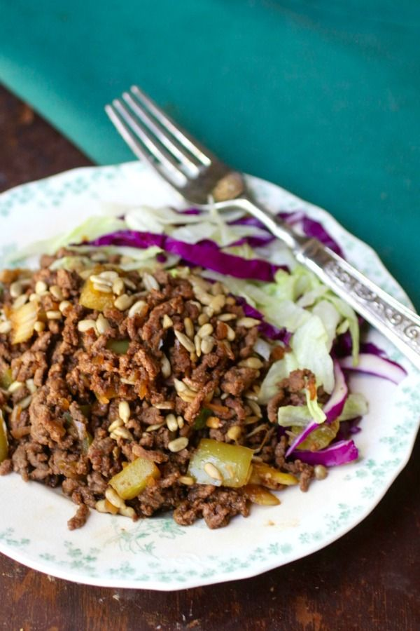 Asian beef salad has just 7.4 carbs. Lowcarb-ology.com