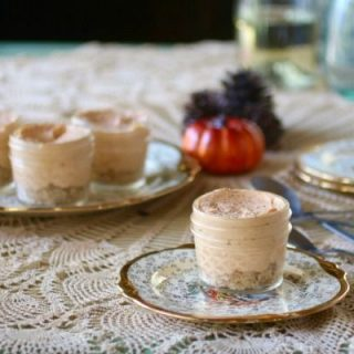 No bake pumpkin cheesecake, low carb and GF from lowcarb-ology.com