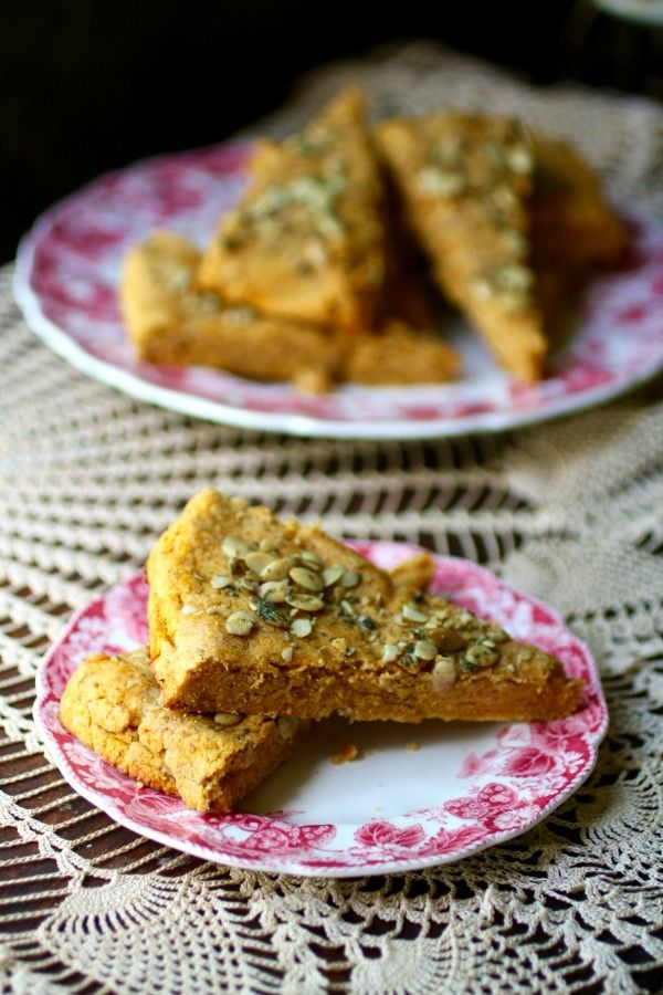 Low carb pumpkin spice scones are easy to make . From Lowcarb-ology.com