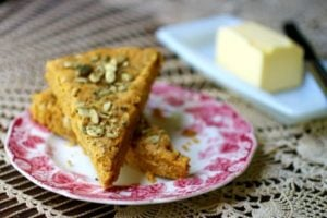 Pumpkin Spice Scones: Low Carb Breakfast Recipe