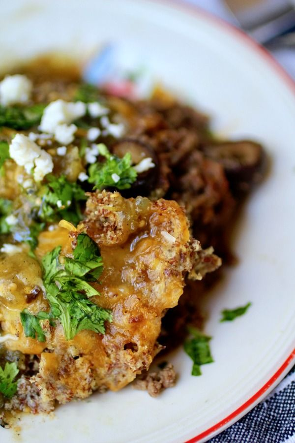 Low carb, easy tamale pie is comfort food you want now. From lowcarb-ology.com