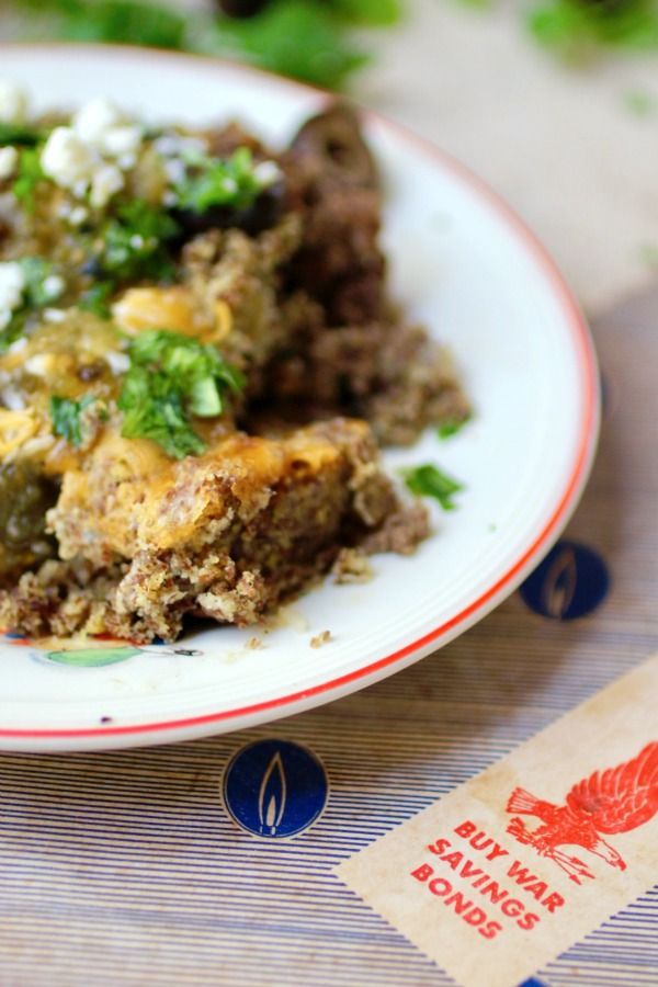 Easy tamale pie has just 4.5 net carbs. From lowcarb-ology.com