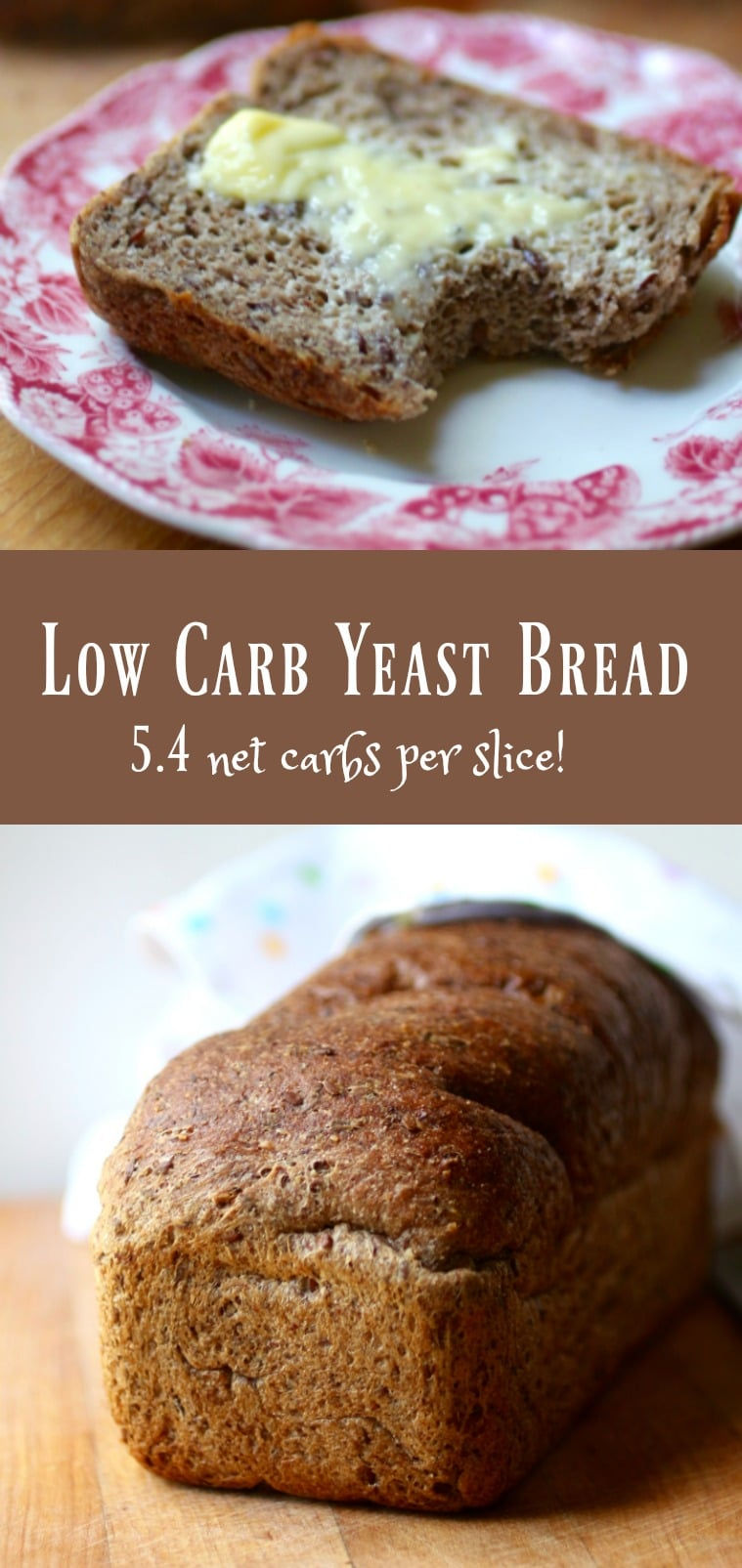 Low Carb Yeast Bread: Keto Sandwich Bread - lowcarb-ology
