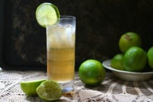 Dark and Stormy Cocktail: Low Carb Twist on a Classic