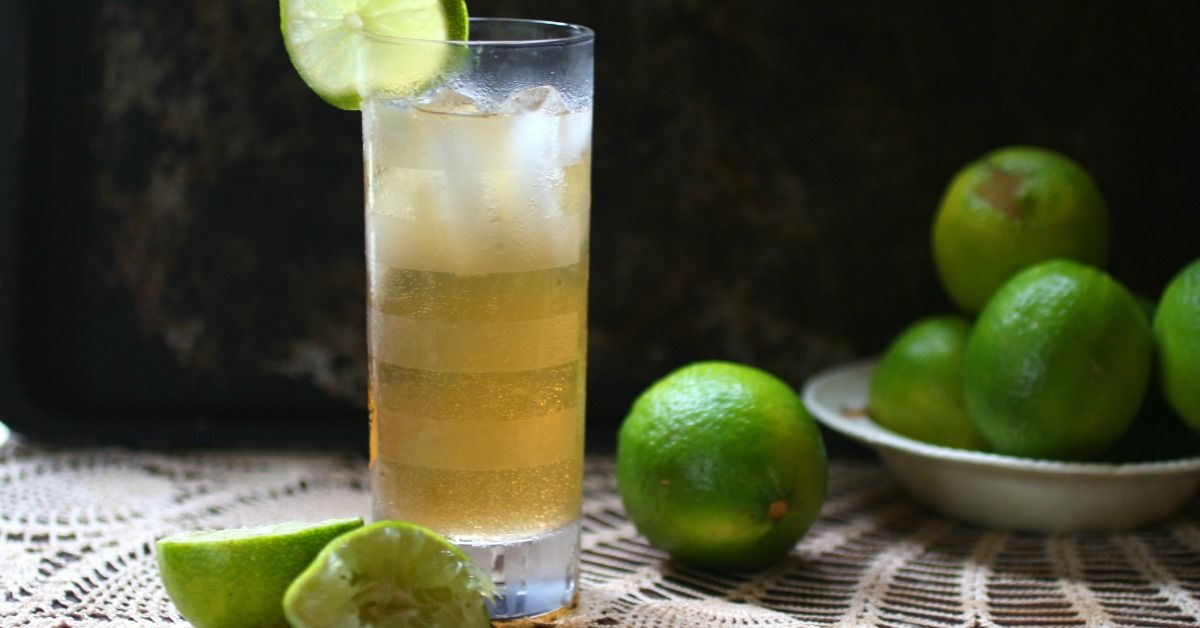 Dark and Stormy Cocktail: Low Carb Twist on a Classic - lowcarb-ology