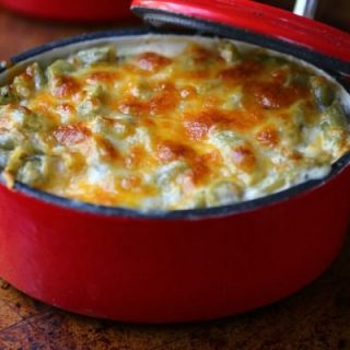 Easy and scrumptious, this low carb green bean casserole is an easy side dish. from Lowcarb-ology.com