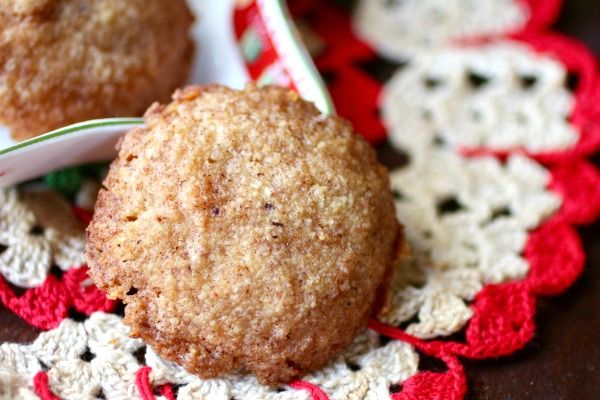 Easy, low carb Christmas cookies recipe that's perfect for the holidays! Lots of nutmeg flavor and just 0.8 net carbs! From Lowcarb-ology.com
