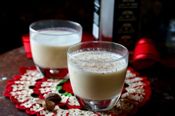 You'll love this creamy, sweet, homemade egg nog - it's low carb! from lowcarb-ology.com