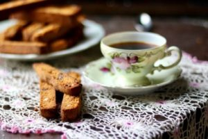 Low Carb Biscotti: Caramel Chocolate Chip