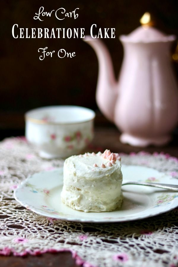 Easy low carb cake is light and fluffy with a delicate vanilla almond flavor. Quick and easy - from Lowcarb-ology.com