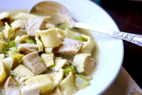 Homemade Chicken Noodle Soup Low Carb Comfort Food Lowcarb Ology