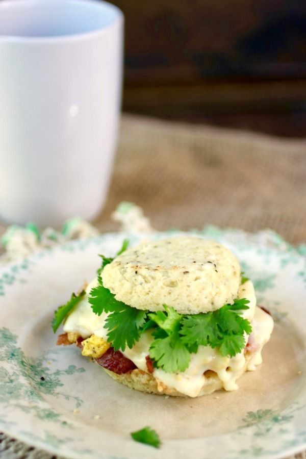 Low carb breakfast sandwich just like the drive through! You're gonna love this! from lowcarb-ology.com